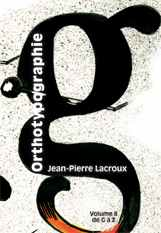 Couverture Orthotypographie