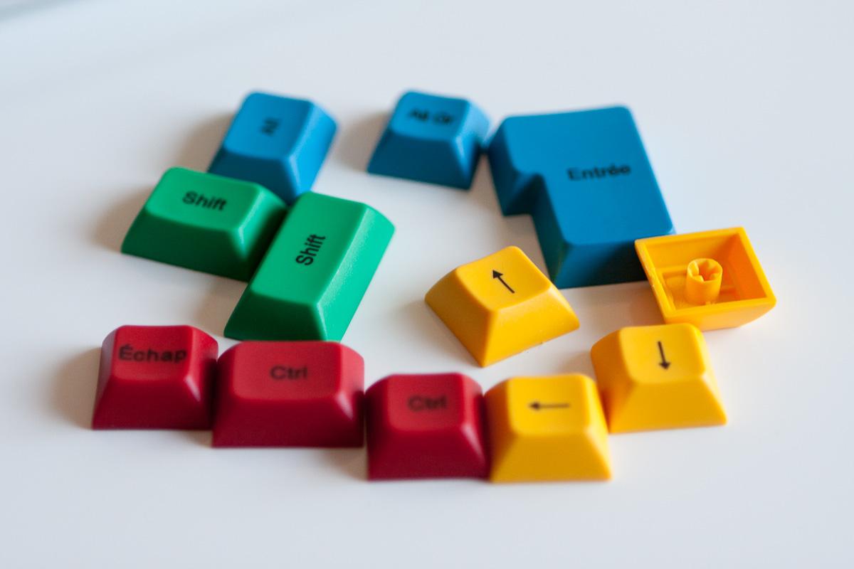 Touches de couleurs Tab90M